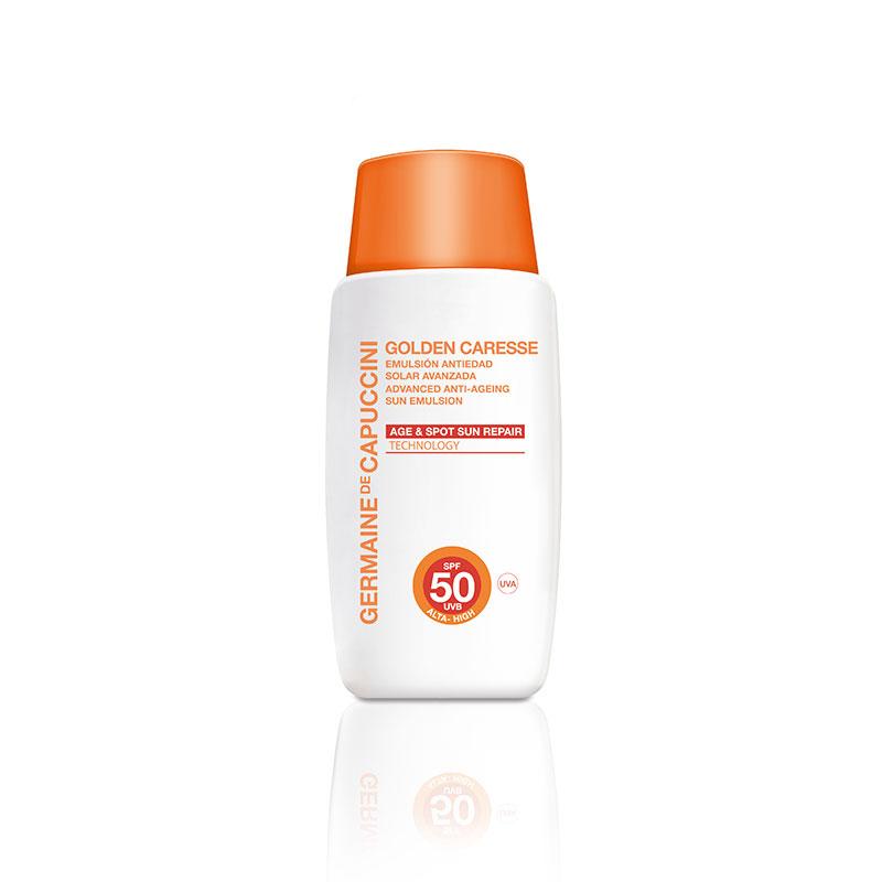 Golden Caresse Advanced Anti-Ageing Emulsion SPF50