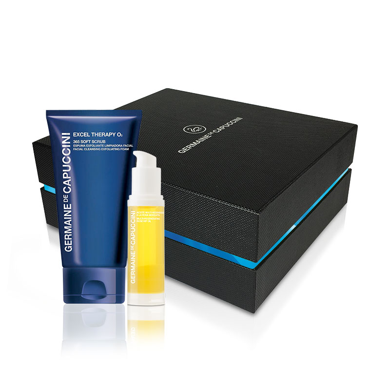 Rose Hip Oil & 365 Soft Scrub Luxury Gift Box